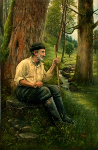 old-man-in-the-woods