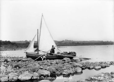 An Eel Fisher's Boat at Cranfield, Lough Neagh
